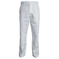 Pantalon blanc poche...